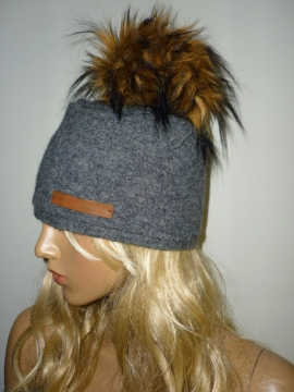 Bommel Mütze Wolle