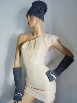 Mütze + Handschuhe
